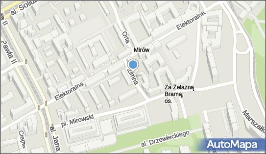 Ulica Zimna, ul. Zimna, Warszawa - Atrakcja turystyczna