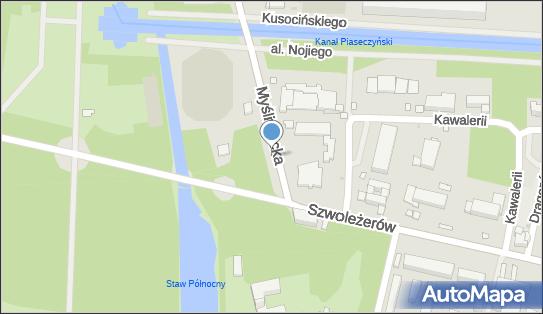 autobusowy, Myśliwiecka 2, Warszawa 00-459 - Autokar, BUS - Parking