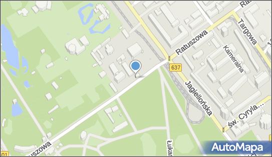 autobusowy, Ratuszowa 5A, Warszawa 03-461 - Autokar, BUS - Parking
