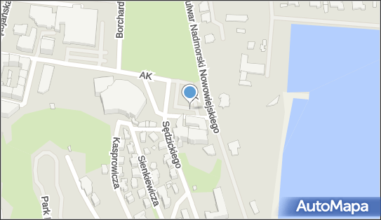 Parking Autokar, BUS, Armii Krajowej, Gdynia 81-365, 81-366, 81-372, 81-393, 81-395 - Autokar, BUS - Parking