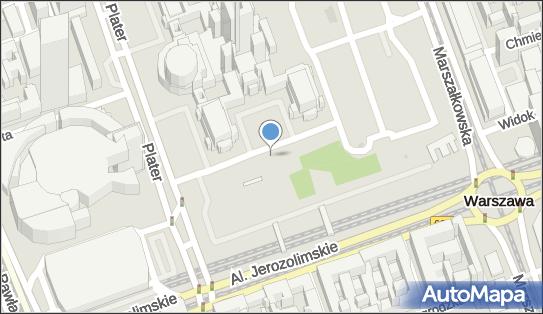 Parking Autokar, BUS, Pasaż Szymborskiej Wisławy, Warszawa - Autokar, BUS - Parking