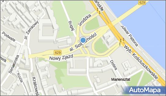 Parking Autokar, BUS, Aleja Solidarności629, Warszawa 00-090, 00-140, 00-144, 00-145, 00-240 - Autokar, BUS - Parking
