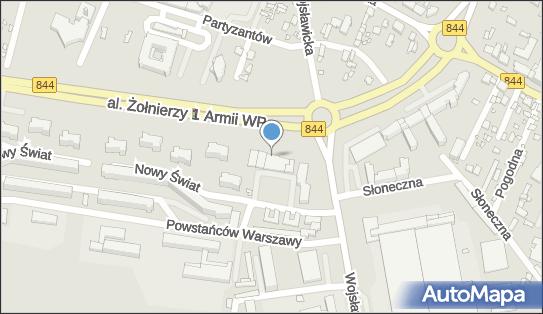 Parking Bezpłatny, al. I Armii Wojska Polskiego 11, Chełm - Bezpłatny - Parking