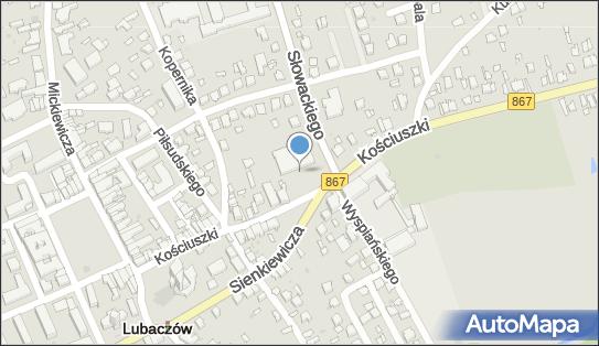 Parking Bezpłatny, Słowackiego Juliusza, Lubaczów 37-600 - Bezpłatny - Parking