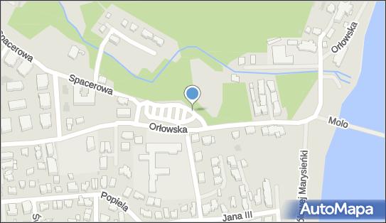 Parking Bezpłatny, Orłowska, Gdynia 81-522, 81-542 - Bezpłatny - Parking