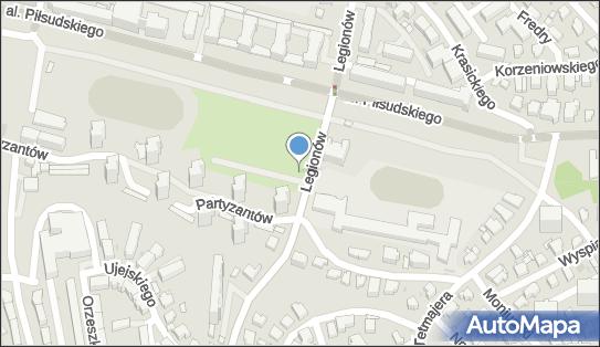 Parking Bezpłatny, Legionów 23, Gdynia 81-405 - Bezpłatny - Parking