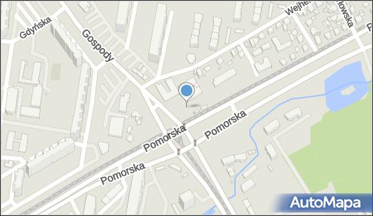 Parking Bezpłatny, Gospody 1A, Gdańsk 80-344 - Bezpłatny - Parking