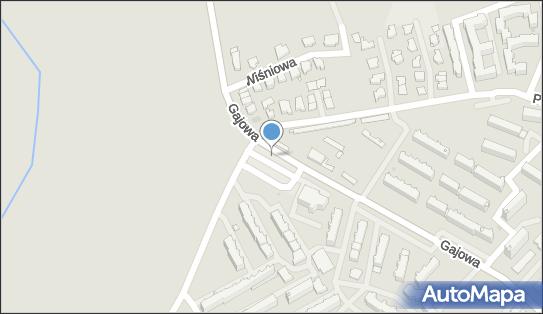 Parking Bezpłatny, Gajowa, Białystok 15-794 - Bezpłatny - Parking