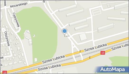 Parking, Rydygiera Ludwika, Toruń 87-100 - Bezpłatny - Parking