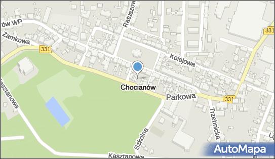 Parking, Parkowa331, Chocianów 59-140 - Bezpłatny - Parking