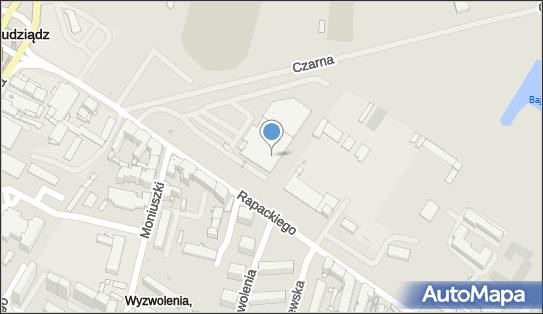 Parking, Rapackiego, Grudziądz 86-300 - Bezpłatny - Parking