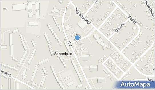 Parking, Korczaka Janusza, Grudziądz 86-300 - Bezpłatny - Parking