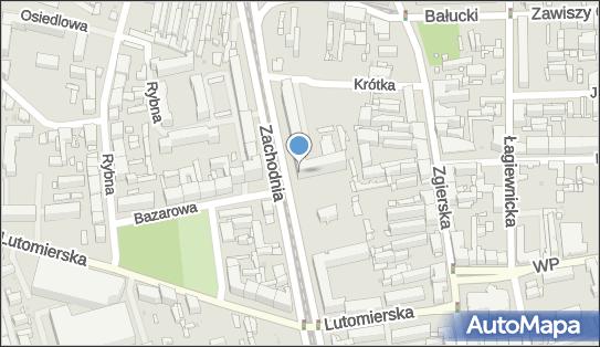 Filia Łódź - Bałuty nr 12, Zachodnia 12, Łódź 91-058 - Biblioteka