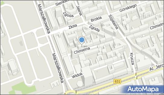 Agencja Nieruchomości Chmielna, Chmielna 32, Warszawa 00-020 - Biuro nieruchomości, NIP: 8371511006