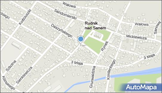 Blue stop - Drogeria, Ul. Rynek 29, Rudnik nad Sanem