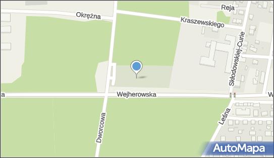 parafialny, Starowiejska, Strzebielino 84-220 - Cmentarz