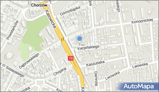 Prywatny Gabinet Stomatologiczny, ul. Franciszka Karpińskiego 3 41-500 - Dentysta, NIP: 6271046483