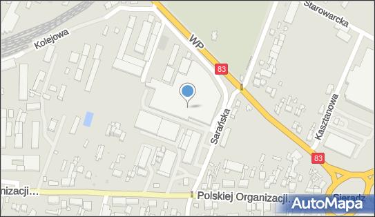 DHL ServicePoint, Wojska Polskiego 11, Sieradz 98-200, godziny otwarcia