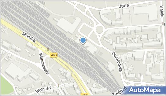 Gdynia Główna, pl. Konstytucji 1, Gdynia - Dworzec kolejowy, Przystanek kolejowy
