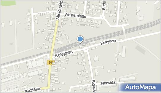 Lubaczów, Kolejowa 3, Lubaczów 37-600 - Dworzec kolejowy, Przystanek kolejowy