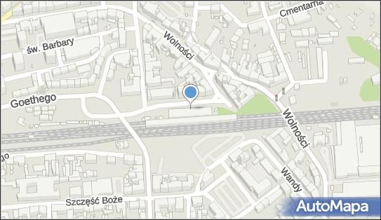 Zabrze, Plac Dworcowy 2, Zabrze 41-800 - Dworzec kolejowy, Przystanek kolejowy