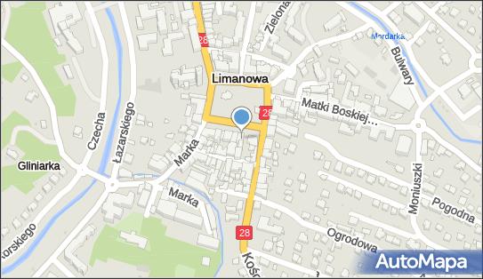 Esotiq - Sklep bieliźniany, Rynek 15, Limanowa 34-600, godziny otwarcia