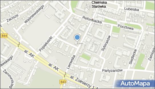 Euronet - Bankomat, ul. Lwowska 16, Chełm 22-100, godziny otwarcia
