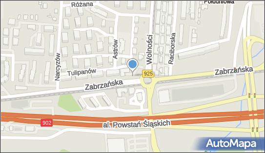 Euronet - Bankomat, ul. Zabrzańska 52, Ruda Śląska 41-700, godziny otwarcia