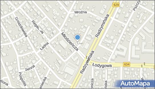Euronet - Bankomat, ul. Młodzieńcza 2, Warszawa 03-655, godziny otwarcia