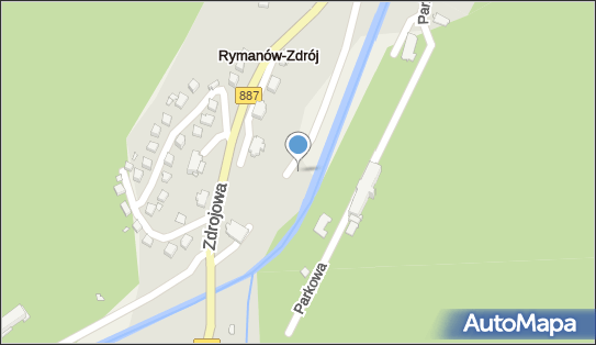Fontanna, Park Obrońców Westerplatte, Rymanów-Zdrój 38-481 - Fontanna