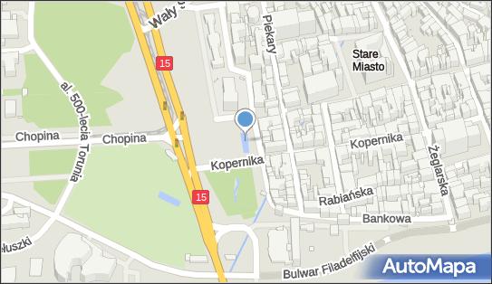 Fontanna, Plac Rapackiego Mariana 6, Toruń 87-100 - Fontanna