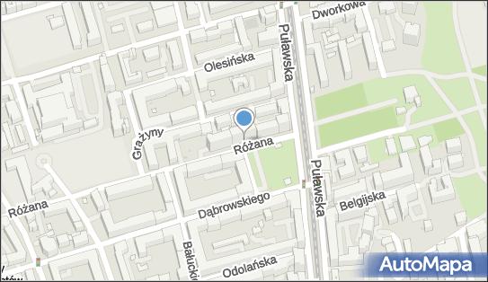 Dotyk SPA, Różana 8/10, Warszawa 02-593 - Gabinet kosmetyczny, godziny otwarcia, numer telefonu