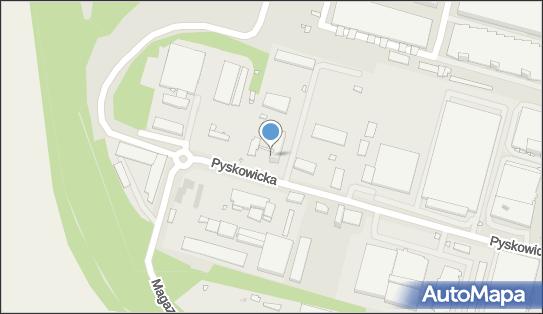 Górnośląski Zakład Obsługi Gazownictwa, Pyskowicka 25, Zabrze 41-807 - Gazownia, godziny otwarcia, numer telefonu