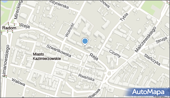 Arfon, Mikołaja Reja 8, Radom - GPS - Sklep