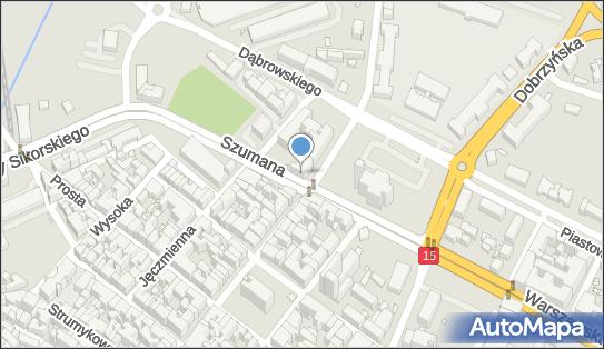 'HOTELIK W CENTRUM', Szumana 2, Toruń 87-100 - Hotel, numer telefonu