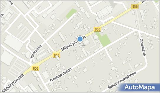 GROCHOWSKI, Międzyrzecka 90, Łuków 21-400 - Hotel, numer telefonu