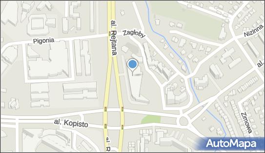 Hotspot bezpłatny, Aleja Tadeusza Rejtana 23, Rzeszów - Hotspot bezpłatny