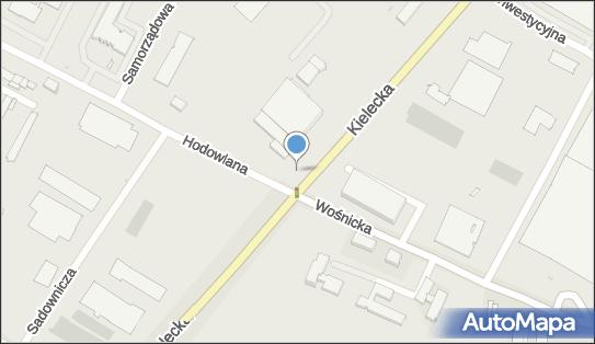 Nadziemny, Kielecka, Radom 26-601, 26-610 - Hydrant