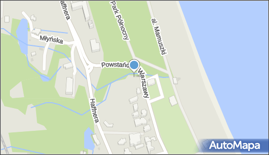 Nadziemny, Powstańców Warszawy 85, Sopot 81-712 - Hydrant