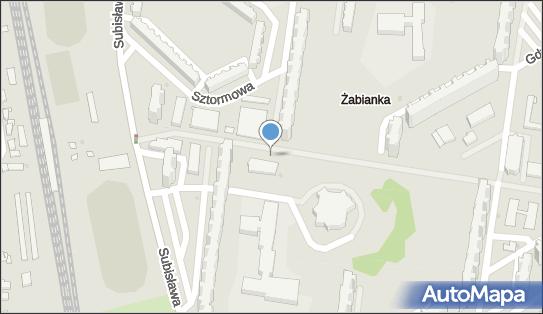Nadziemny, Subisława 24, Gdańsk 80-354, 80-348 - Hydrant
