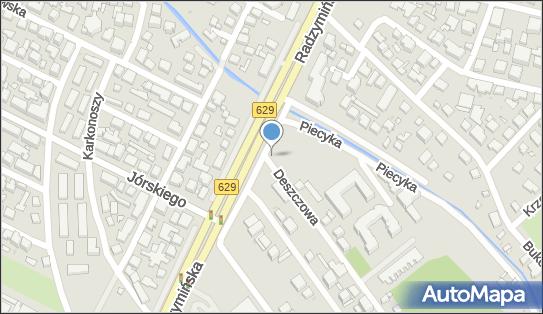 Podziemny, Deszczowa, Warszawa 03-673 - Hydrant