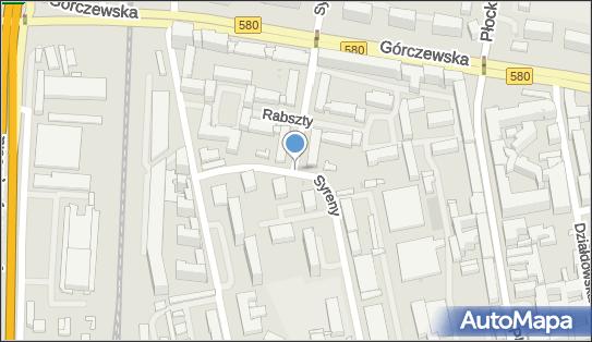 Podziemny, Syreny, Warszawa 01-132, 01-140, 01-145, 01-150, 01-155, 01-159, 01-168 - Hydrant