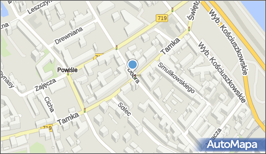 Podziemny, Tamka719 9, Warszawa 00-385 - Hydrant