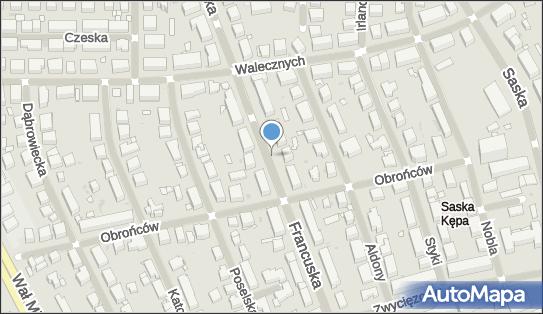 Podziemny, Francuska, Warszawa 03-096 - Hydrant