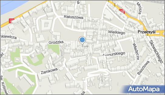Punkt Obsługi Ruchu Turystycznego PORT Przemyśl, Rynek 16 37-700 - Informacja turystyczna, numer telefonu