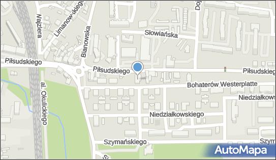 PaczkoPunkt InPost POP-ZAW9, Piłsudskiego 12, Zawiercie 42-400, godziny otwarcia