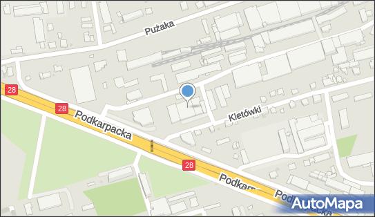 Inter Cars, Lokalizacja punktu Orientacyjna, Podkarpacka 16C 38-400 - Inter Cars - Sklep, Hurtownia, godziny otwarcia, numer telefonu