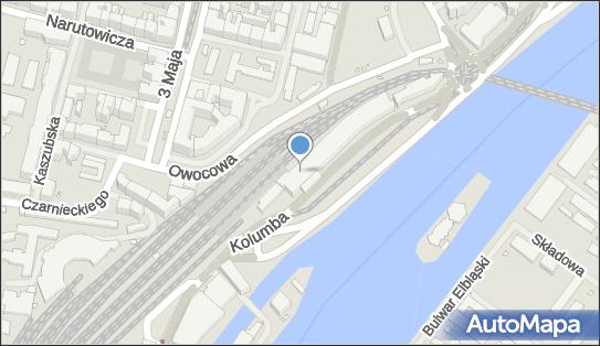 KFC - Restauracja, Kolumba 2, Szczecin 70-035