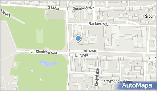 Kiosk, Al.NMP 64 SDC 242, Częstochowa - Kiosk