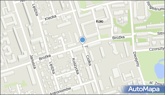Kiosk, Brożka Jana, Warszawa 01-442, 01-451 - Kiosk